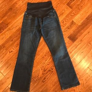 Old Navy full panel boot cut maternity jeans